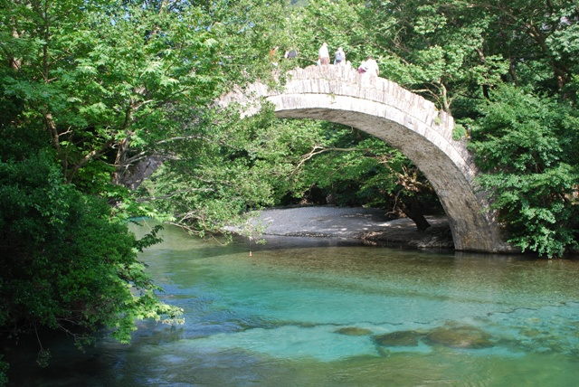 Voidomatis river in Vikos Gorge